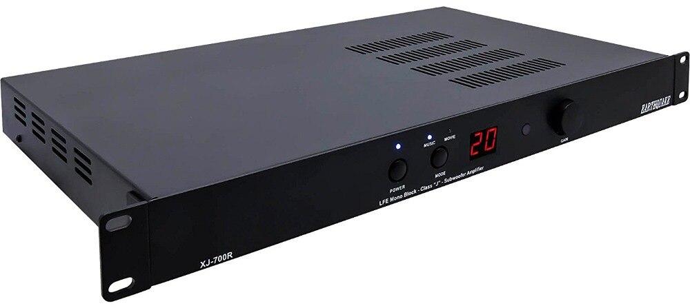 XJ-700R Tattile Trasduttore big Bass Shakers altoparlante di vibrazione 4D theater LFE Mono block classe J amplificatore subwoofer