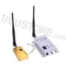 FPV 1.2 GHZ 1.2G 1500 mW 8CH 8 Canaux Sans Fil Tranmsitter et 12 Canal Récepteur Professionnel Kit pour CCCTV DJI Phantom