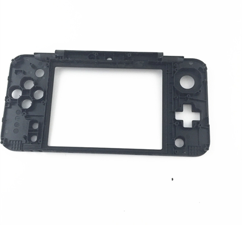 2PCS/LOT Black Replacement Housing Middle Frame Cradle Cover Repair Part for Nintendo New 2DS LL/XL New 2DSLL/XL Frame