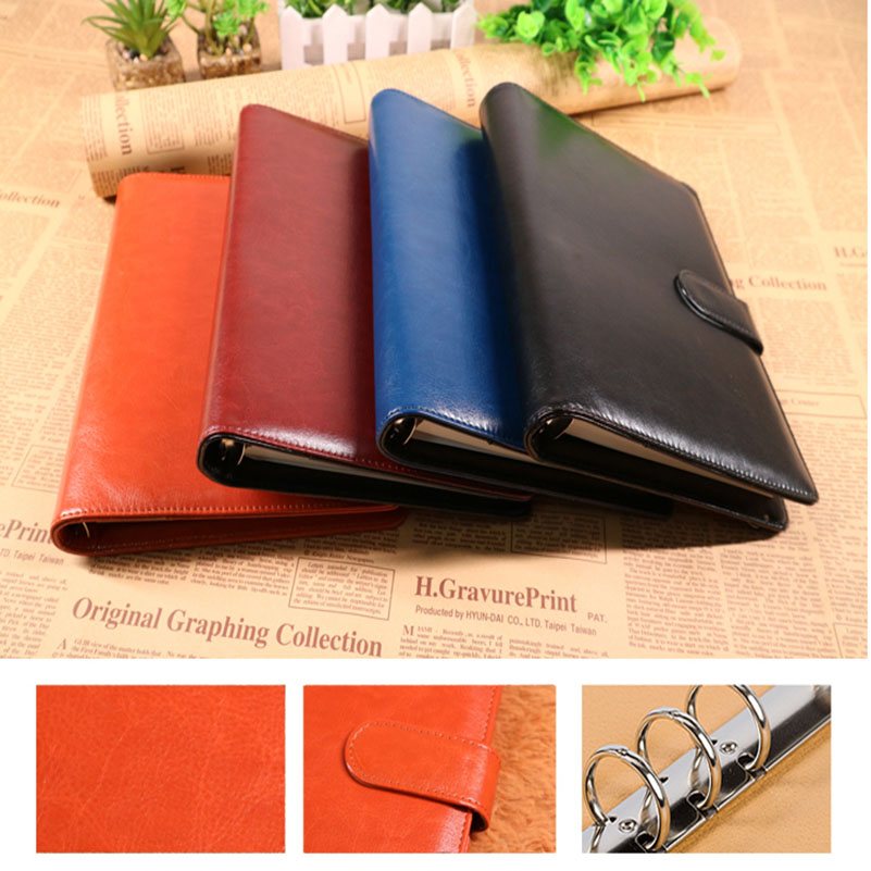 A5 Vintage Leather Business Journal Note Book Planner Diary Personal Organizer Office Stationary Supplies салатник luminarc lotusia диаметр 27 см