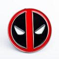 Super-heróis Deadpool Fivela De Luxo Designer Cintos Homens de Alta Qualidade Do Punk Rock Hip Hop Masculino Correia de Liga de Zinco Anéis, só a Fivela