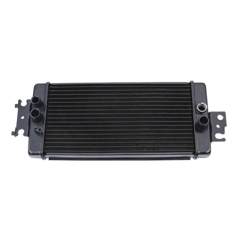 אופנוע שחור אלומיניום מנוע רדיאטור Cooler קירור לסוזוקי VZ800 VZ 800 2005-2009 06 09