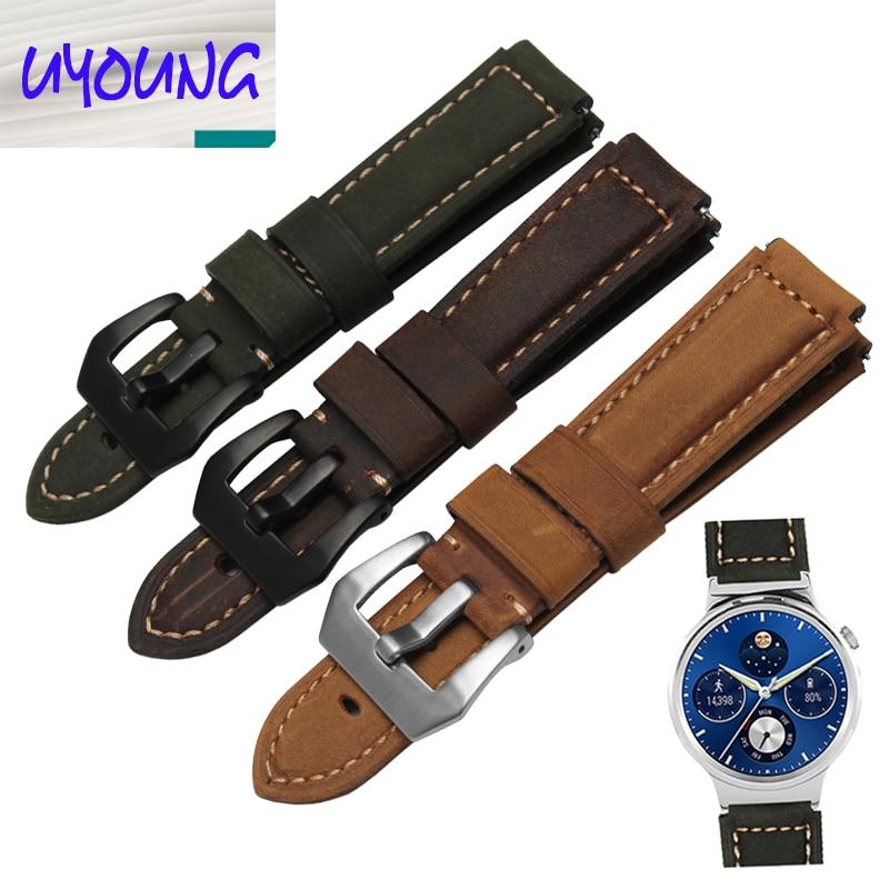 22 * 18mm Uhrenarmband Stahluhrzubehör männlich Uhrenarmband Huawei - Uhrenzubehör - Foto 1