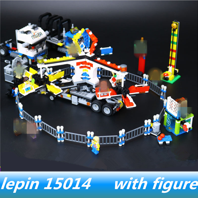 legoing Giant Amusement Park 10244 Lepin 15014 lepin Amusement Park Giant Stride Carnival Set Building Blocks Bricks велосипед silverback stride 15 2014