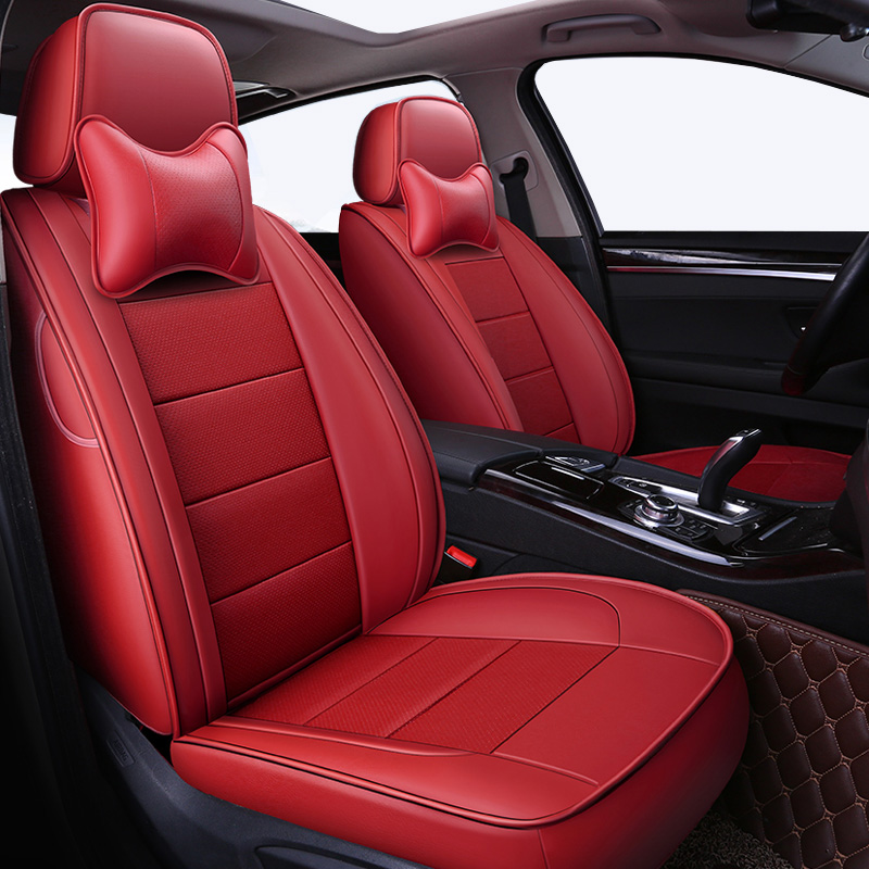 Automovil Leather Car Seat Cover For Toyota Corolla Camry