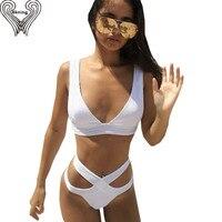 Bandage Bikini Set Sexy Swimwear Women Push Up Bikinis Swimsuit Bathing Suit Biquini Womens Beach Wear