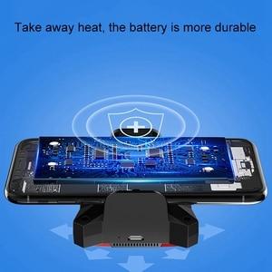 Image 5 - Soğutucu telefon Usb soğutma fanı oyun telefonu radyatör taşınabilir damla sıcaklık Usb kablosu