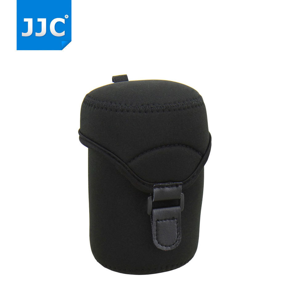 JJC Lens Soft Case Bag Protector Cover Neoprene Mirrorless Camera Lens Pouch for Olympus/Fujifilm/Pentax/Leica/Sony/Canon/Nikon