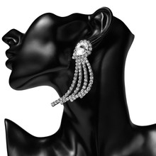 2019 New Long Dangle Earrings Party Jewelry Accessories Fashion Acrylic Elegant Trendy Tassel For Women
