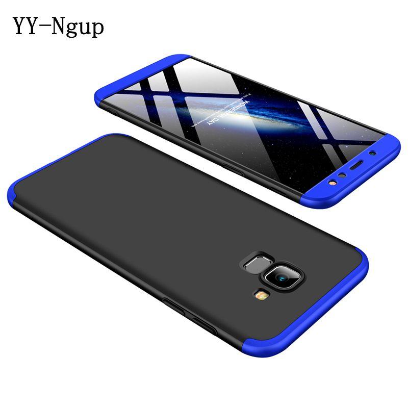 A6 2018 360 Degrees Full Phone Case on for Coque Samsung Galaxy A6 Plus 2018 Case Cover etui sFor Samsung A8 J6 Phone Case Funda 360 degrees