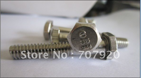 stainless steel nuts/washer/bolts