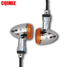 1 Pair Front Motorcycle Turn Signal Lights For SUZUKI BOULEVARD M109R VZR1800 4x clear turn signal lenses for 2006 2012 suzuki boulevard m109r motorcycle signal lamp cover lampshade scooter