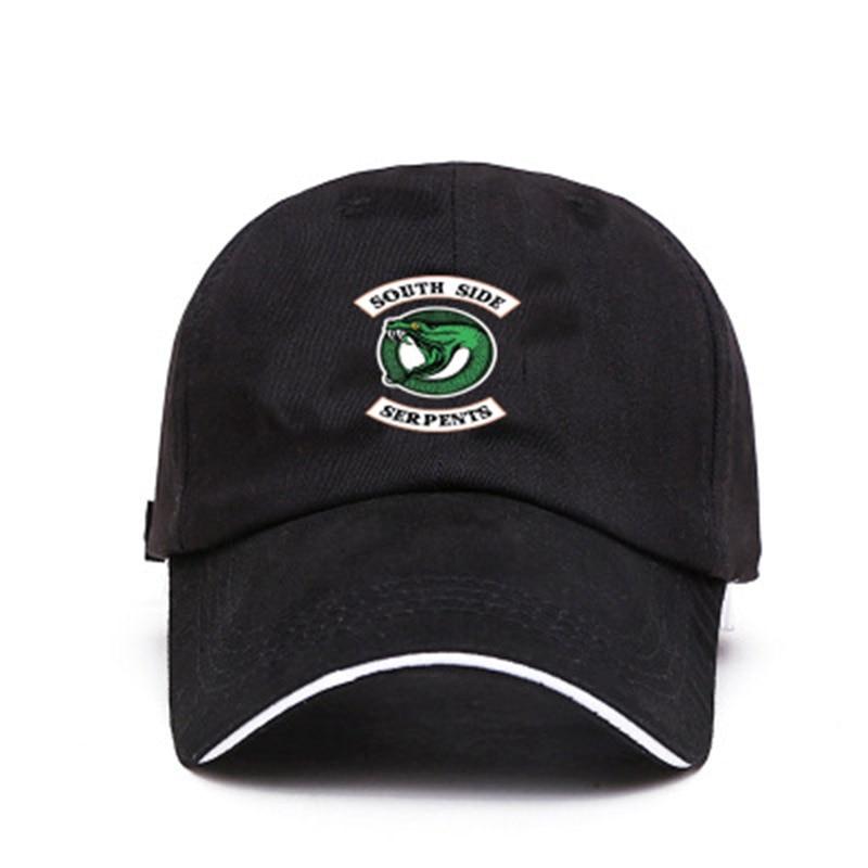 2019 Spring Riverdale River Valley Town Baseball Cap Men And Women Korean Letters Wild Duck Hat