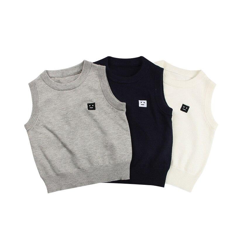 b44a88a8018 Casual Winter Children Sweater Vest Briti stiilis Vest Poisid ja ...