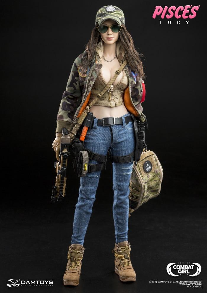 댐 완구 dcg004 전투 소녀 시리즈 물고기 자리 루시 1/6 그림-에서액션 & 장난감 숫자부터 완구 & 취미 의  그룹 1
