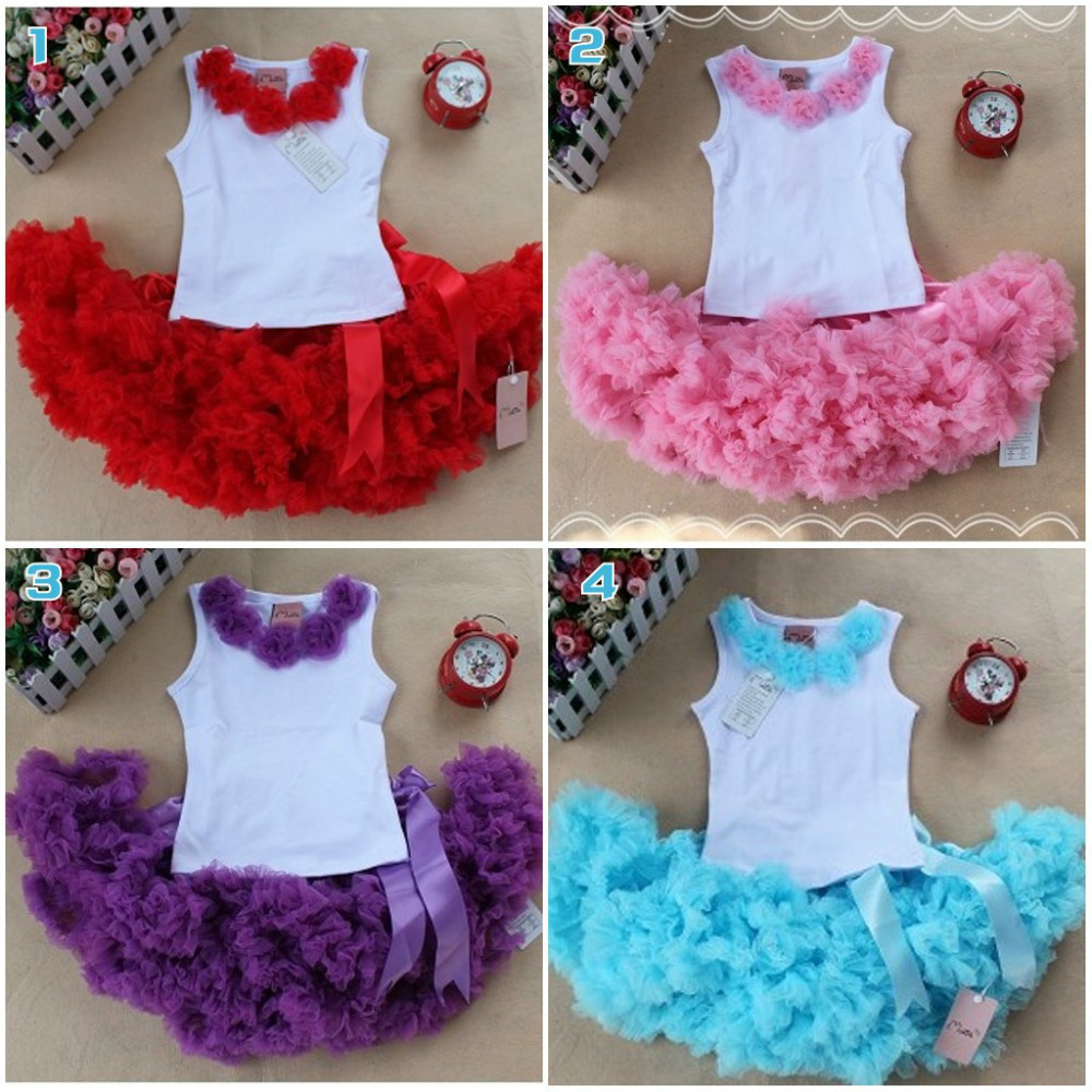 EMS DHL Free shipping wholesales new arrival baby holiday pettiskirt, tutu skirt, bow party 2pc set Holiday Clothing Costume dhl ems 1pc new sick vte18 3e2812