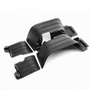 Image 2 - Черные пластиковые передние и задние щитки от грязи INJORA, брызговик для 1/10 RC Crawler Axial SCX10 II 90046 90047