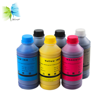 Dye Ink and Pigment Ink Compatible for HP DesignJet T1500 T1530 T920 T930 T2500 T2530 Printing Ink for hp 727