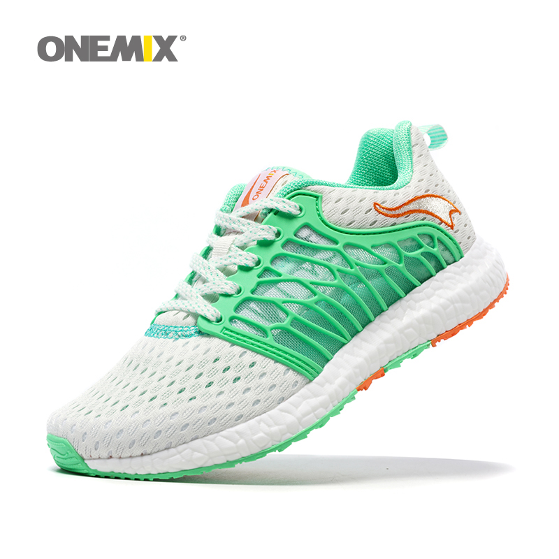 Onemix Gym Shoes for Women Running Shoes Summer Athletic Trainer Woman Zapatillas Deportivas Sports Shoe Outdoor