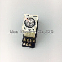 1SET H3Y-4 0-5Sec 220V Time relay power delay controller ST6P-4