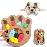 1 STÜCKE Hohe qualität haustier hund puzzle spielzeug neue holz interaktive fütterung multifunktionale pet spielzeug stil auswahl A20