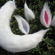 Аниме Inu x Boku SS хвост для косплея, лисий хвост, лисий хвост, волчий хвост, кошачий хвост, уши ручной работы, плюшевый реквизит для косплея, косплей, Haripin повязка на голову