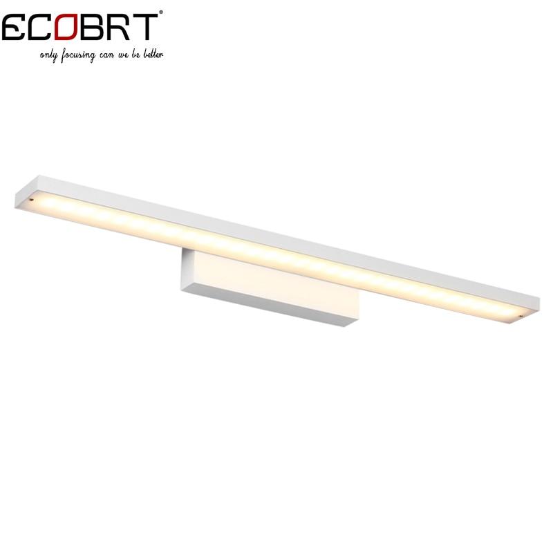 ФОТО Ecobrt 16W Modern Aluminum LED Wall Lights bulb Sconces 85-265V home decor restroom bathroom bedroom wall lamp hotel lamp lights