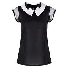 Camisa блузки feminina блузка шифон свободные рукавов летние без топы жилет
