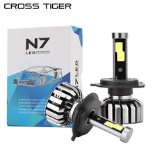 CROSS TIGER LED Car Headlight N7 8000 High Luminous Auto Bulb H1 H3 H4 H7 H13 880 H27 HB1 HB3 9006 HB4 HB5 Car Styling Lamp