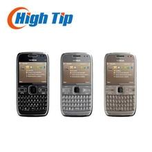 Nokia Unlocked original mobile phone E72 with 5.0MP camera GPS WIFI qwerty keyboard Refurbished Free shipping 1 year warranty