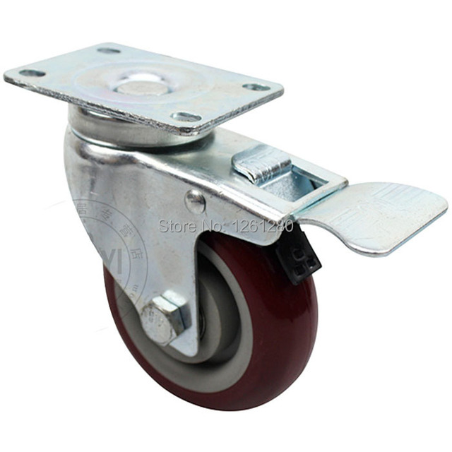 Tnt Express Furniture Caster 3 Inch Swivel Wheel Steering Table Sofa Wheel  Universal Mute Authentic