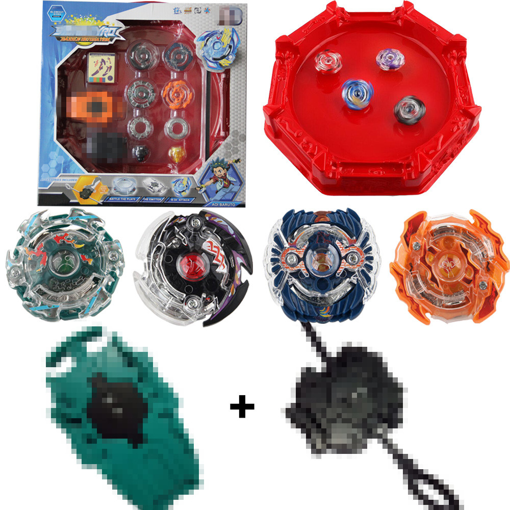 8er//set für Beyblade Burst starter Kit Bayblade Mit Launcher+Box Toys für Kinde