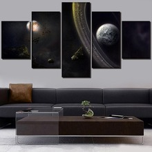 Universe HD Print Wall Art Canvas Painting Landscape Modern Home Canvas Wall Art For Living Room Painting Home Decor Picture urban hd print wall art canvas painting modern home canvas wall art for living room painting modern decor home decor picture