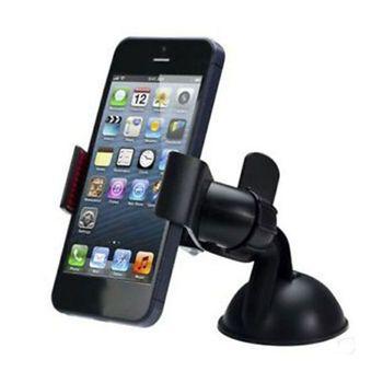 Car Holder 360 Rotating Windshield Mount Bracket Stand For GPS Mobile Cell Phone Universal Bracket