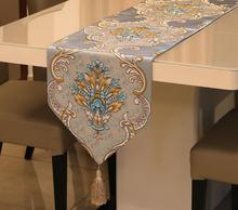 купить High Quality Embroidery Luxury Table Runner Table Runners Home Textile Made in China недорого