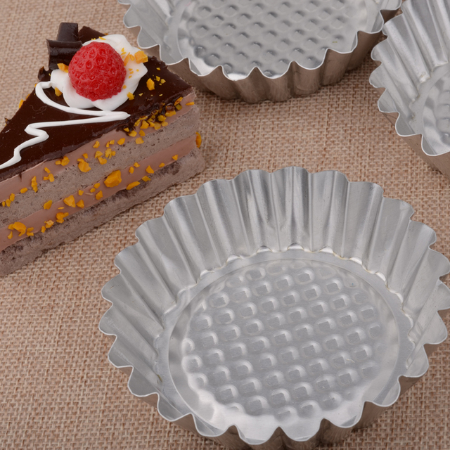 Stainless Steel Cupcake Molds Set