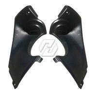 Intake Ram Air Tube Cover Fairing case for YAMAHA YZF600 R6 1998 2002 99 00 01 Unpainted Cover Fairing section