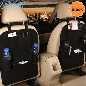 1 Uds caja de bolsillo de almacenamiento de asiento trasero de coche para Dacia duster logan sandero stepway lodgy mcv 2 dokker