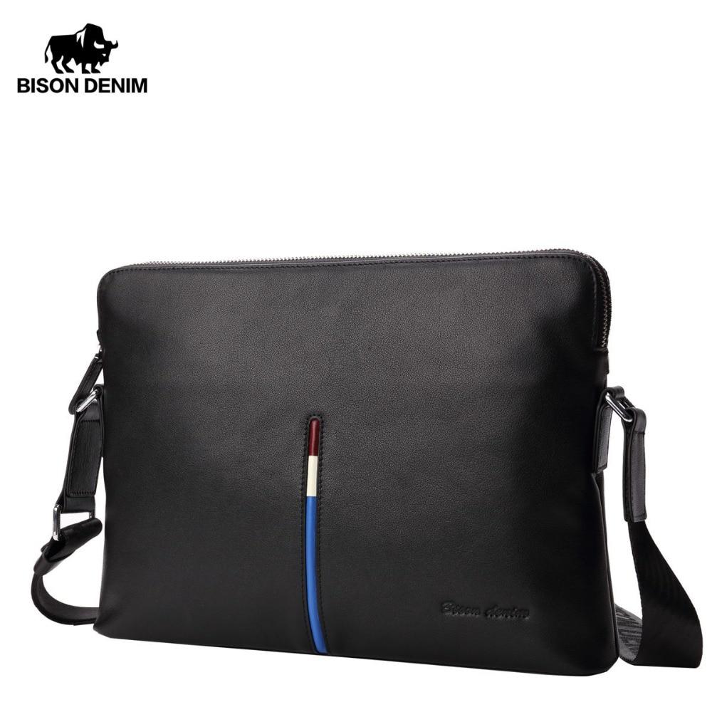 bison-denim-100-genuine-leather-crossbody-bag-for-men-business-ipad-messenger-bag-casual-leather-men's-shoulder-bag-n2698-2b