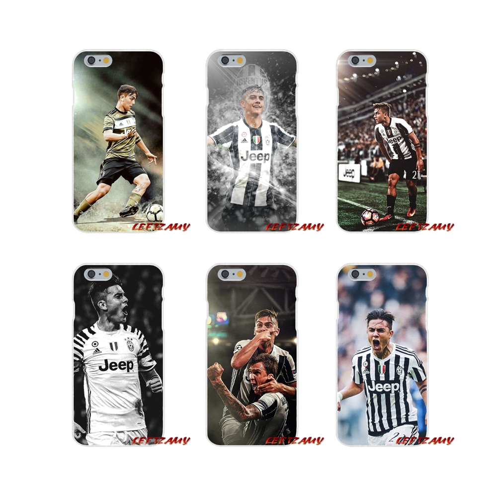 Italy famous soccer 21 Paulo DYBALA Slim phone Case For Samsung Galaxy S3 S4 S5 MINI S6 S7 edge S8 S9 Plus Note 2 3 4 5 8