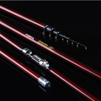 7m Rock Fishing Rod Carbon Fiber Fishing Pole Super Hard Telescopics Fishing Rod 4m/5m/6m/7m Power Hand Rods Fishing Tackles