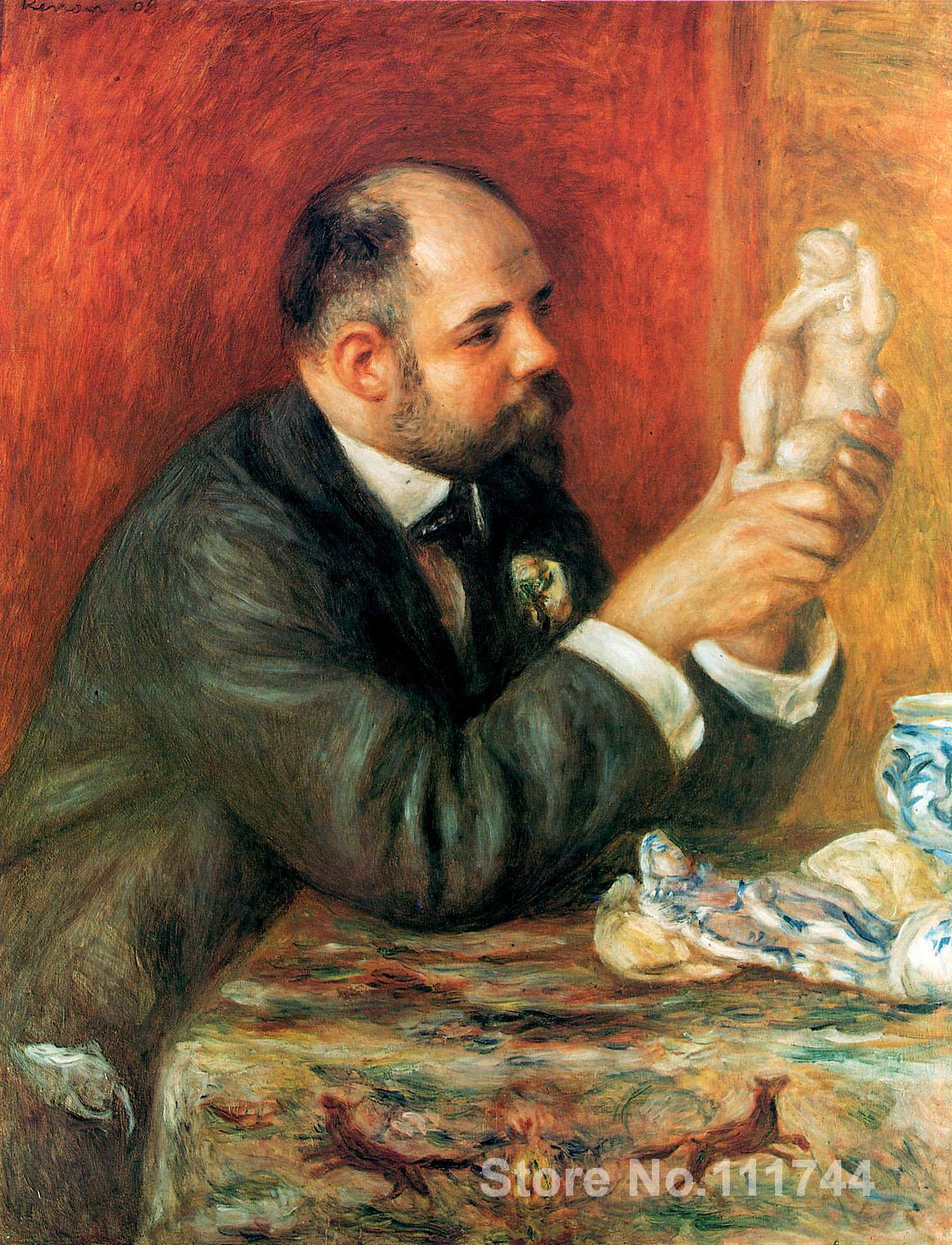 Impressionist art for sale Ambroise Vollard Pierre Auguste Renoir painting Handmade High qualityImpressionist art for sale Ambroise Vollard Pierre Auguste Renoir painting Handmade High quality
