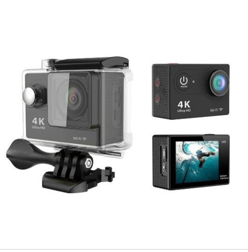 HD Sports Action Video Camera 4K Mini Waterproof Small 1080P Photo Voice Recording Easy to carry shell protection Diving Bike