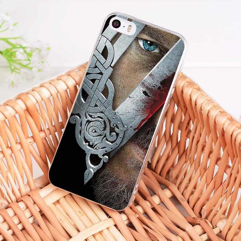 MaiYaCa vikingos serie de TV de lujo híbrido accesorios para teléfono funda para iPhone 8 7 6 6S Plus X 10 5 5S SE 11pro funda de Coque