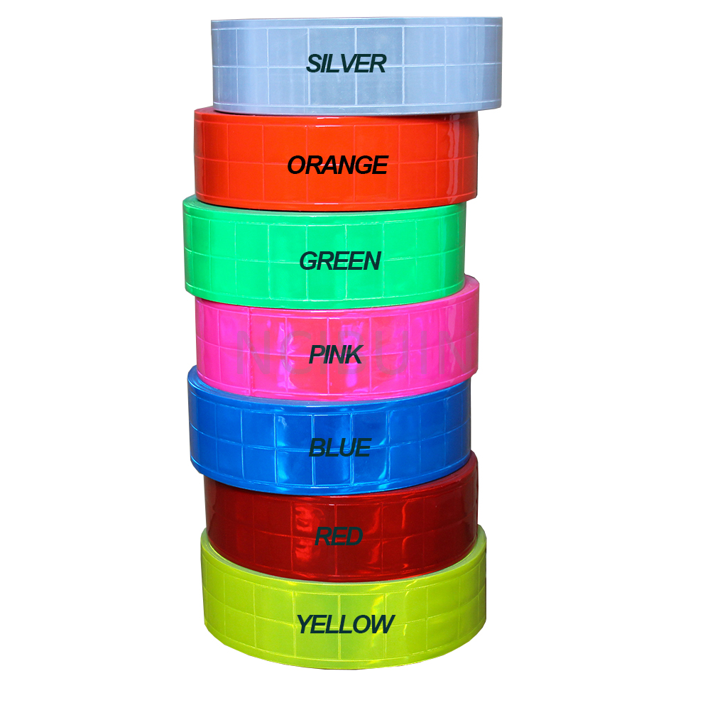 Reflective Tape 20mm Multicolour Sew on Visibility 1m