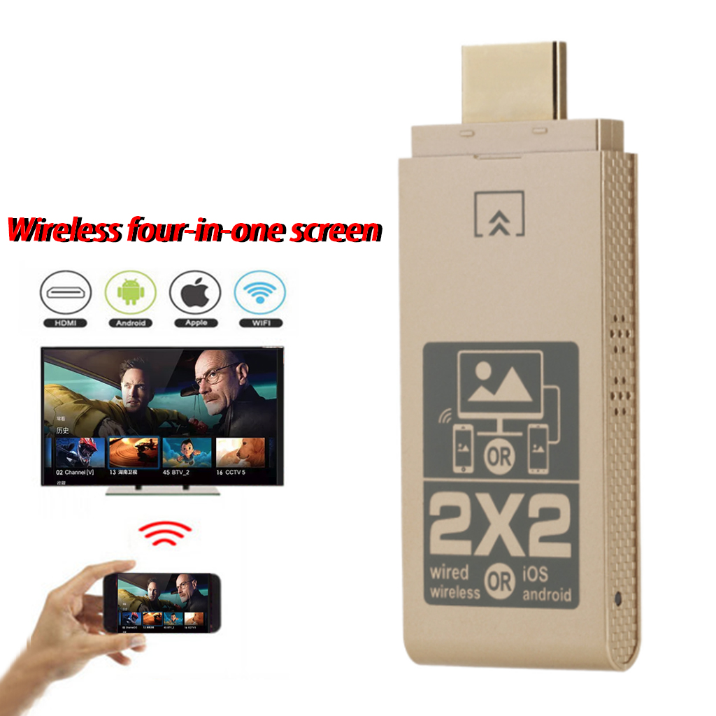 1080P HD TV Stick Digital HDMI Screen Receiver Adapter Media Video Wireless Display Dongle IOS Android Windows-in TV Stick from Consumer Electronics