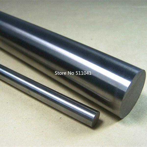 1 pz 99.95% Puro Molibdeno Mo Metallo Rod Diametro 8mm Lunghezza 1000mm