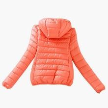 Zipper Hooded Women Winter Jacket 2017 New Brand Spring Autumn Slim Warm Coat Solid Color Short Ladies Padded Fashion Jacket