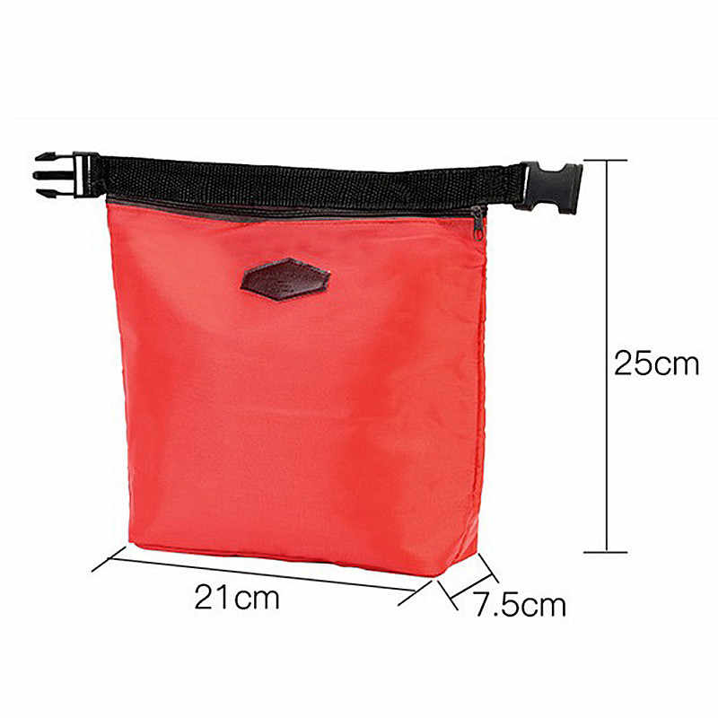 Hot Sale Outdoor Camping Portable  Lunch Box Insulated Nylon Lunch Bag Waterproof Lunch Carry Storage Picnic Bag for Women Kids