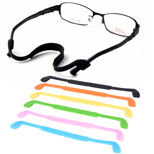 c237a00f635 Eshylala gafas de silicona gafas de sol Correa deportiva cordón soporte gafas  accesorios para niños gafas